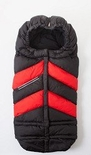 7 A.M. Enfant Blanket 212 Chevron Black/Red