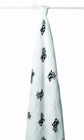 aden + anais Classic Muslin Swaddle Blanket, Moo Cow