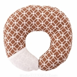 Babymoon Pillow Neck Support - Cocoa Clover