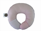 Babymoon Pillow Neck Support - Pale Pink Dot