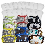 Best Bottom Diapers - Size Medium Package