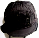 Boys Brown Cap With Visor