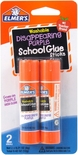 Elmer's Washable All-Purpose School Glue Stick, .24 oz, 2 Pack