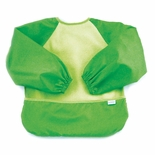 Bumkins Absorbent Fleece Sleeved Bib Green