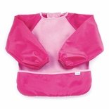 Bumkins Absorbent Fleece Sleeved Bib Pink