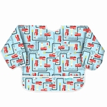Bumkins Waterproof Sleeved Bib, Fire Engine