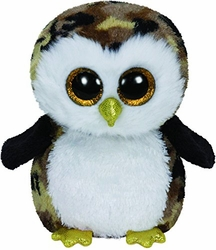 Ty Beanie Boos Owliver the Camo Owl Plush