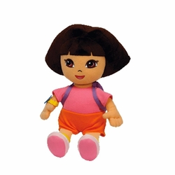 Ty Beanie Baby Dora the Explorer