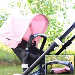 Clips N Grips® Bumper Bar Protector With Zipper Fits Most Strollers