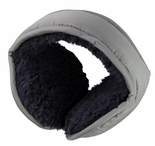 Clips N Grips Ear Warmers Unisex Polyester Adjustable Winter Earmuff Grey