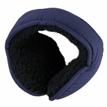 Clips N Grips Ear Warmers Unisex Polyester Adjustable Winter Earmuff Navy Blue