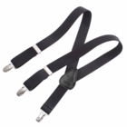 Clips N Grips Kids Suspenders Black