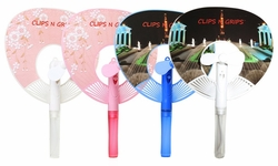 Clips N Grips® Multifunctional 3 in 1 Mini Handheld Mist Fan