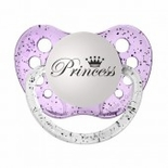 Glitter Purple Orthodontic Expression Pacifier Princess