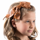 Dacee Leather Bow Headband
