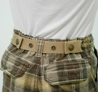 Dapper Snappers Beige Adjustable Belt
