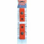 Dapper Snappers Orange Adjustable Belt