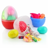 2 Filled Large Easter Eggs 6""
