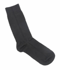 Florence Modal Men's Side Chain Dress Sock Black