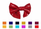 Girls Big Leather Hair Bow