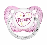 Glitter Pink Orthodontic Expression Pacifier Heart