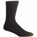 GOLD TOE Men's Casual Crew Socks 3 Pair Pack 2244S