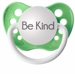 Green Orthodontic Expression Pacifier Be Kind