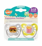 Hipster Collection Burger & Fries Pacifier