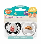 Hipster Collection Milk & Cookies Pacifier