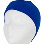 Hydrodynamic Non Resistant Lycra Swim Cap Royal Blue