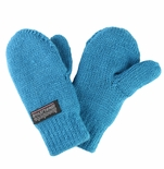 Infant Toddler Baby Mittens Teal Blue