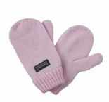 Infant Toddler Baby Mittens Light Pink