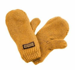 Infant Toddler Baby Mittens Mustard