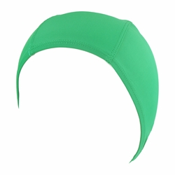 Hydrodynamic Non Resistant Lycra Swim Cap Kelly Green