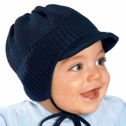 bbc42e688 Infant & Toddler Boys Winter Knitted Cap with Side Strings