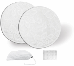 Jolly Jumper Washable Nursing Pads (6) and Bra Extender