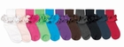 Jefferies Ruffle Socks Misty Girls Colored Socks