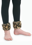 Jefferies Toddler Girls Cotton Fur Footless Tights Leggings