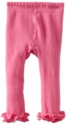 Jefferies Cotton Ruffle Footless Tights Leggings Bubblegum Pink