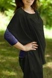 Jolly Jumper Pashmama Nursing Cover - Black