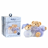 KALOO BLUE-BABY BOY GIFT SET, PLUSH TOY AND 100 ML SCENTED WATER-Hypo Allergenic, Alcohol Free