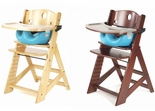 Keekaroo Height Right High Chair With Aqua Infant Insert