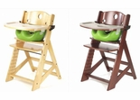 Keekaroo Height Right High Chair With Lime Infant Insert