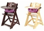 Keekaroo Height Right High Chair With Raspberry Infant Insert