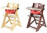 Keekaroo Height Right High Chair With Red Infant Insert