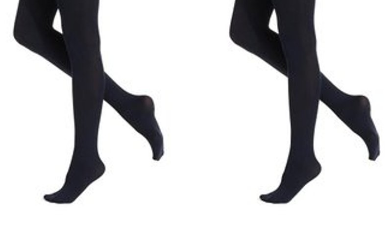 1556069ab61 KneesNToes.net - Mod   Tone Girl s Microfiber Opaque 2 Pair Tights ...