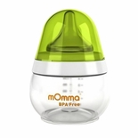 Lansinoh mOmma Feeding Bottle, Slow Flow, 5 oz