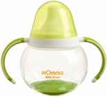 Lansinoh mOmma Spill Proof Cup with Dual Handles, Green