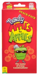Mattel Apples to Apples Trendy Snack Pack