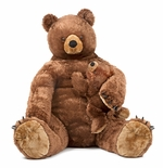 Melissa & Doug Brown Bear and Cub - Plush